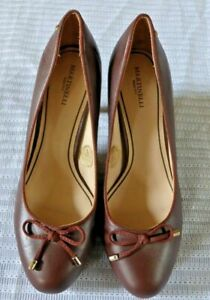 MARTINELLI  'CUERO' Style High Heeled Court Shoes - Brown  EU 39  (Size 6)