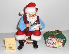Kurt Adler Santa BELIEVE IN ME Mail Bag of Letters KSA Fabriche with Box W10029
