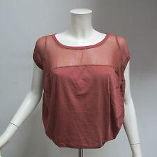 OTTOD'AME t-shirt donna m/corta art.HM3173 col.RUGGINE tg.42 estate 2013