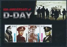 [G357975] Guyana 2005 War good Sheet very fine MNH