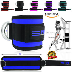 Best Ankle Strap Leg Gym Cable Attachment Pulley Machine Weight Lifting D Ring