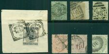 Great Britain Early Used Stamps All Sound, Incl #'S 28, 46,70,85,87,95 & 104