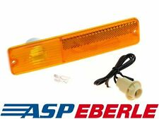 Jeep CJ Blinker Blinkleuchte vorne inkl Glühlampe und Fassung mit Kabel 69-75