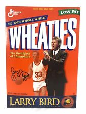 Wheaties Cereal Box LARRY BIRD Commemorative Edition Pacers Collectible 1998