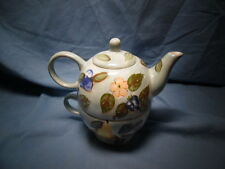 *Tea for One*Teapot & Cup Set Handcrafted- Mesa International