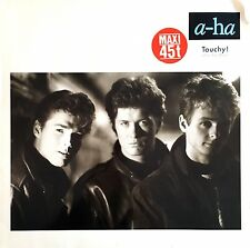 "a-ha ‎12"" Touchy! (Go-Go Mix) - Europe (VG/EX+)"