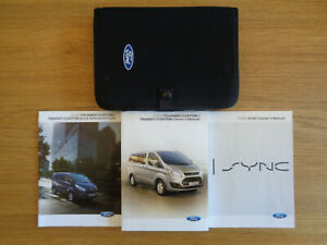 Ford Transit/Tourneo Custom Owners Handbook Manual and Pack 12-18
