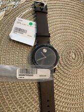 Movado 3600443 Bold 42MM Men's Brown Leather Watch