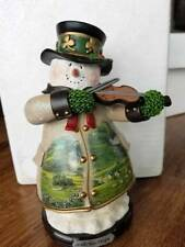 "The Bradford Exchange Bradford Editions ""Irish You Hope"" Snowman Free Ship USA"