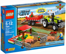 LEGO 7684 Pig Farm & Tractor - 2010 City - New In Box - Retired