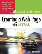 Creating a Web Page with HTML: Visual QuickProject Guide, Elizabeth Castro, 0321