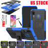 For Samsung Galaxy A20 A30 A50 Shockproof Armor Stand Case Hybrid Rugged Cover