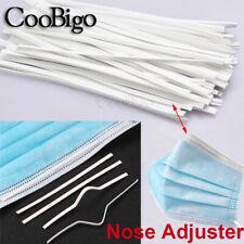 100Pcs 100mm Nose Adjuster Strip DIY Making Accessory For Nose Bridge Protection