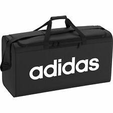 adidas Herren Sporttasche Essentials Linear Core Duffel Bag Größe Medium schwarz
