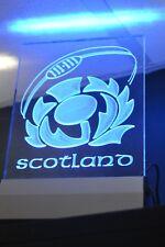Scottish Rugby Edge Lit LED Sign