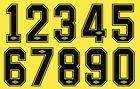 Sheffield United Umbro 80s Felt Football Shirt Soccer Numbers Heat Jersey Retro
