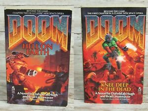Classic DOOM Knee-Deep in the Dead HELL on EARTH 1995 Books First Print