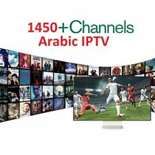 1 Year Subscription Best Arabic/Turkish/French/Spanish IPTV Channels