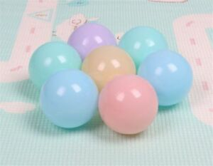 Pit Balls 100 pcs/lot Eco-Friendly Pastel Color Soft Plastic Ocean Balls 2021