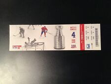 2009 MONTREAL CANADIENS Ticket HENRI RICHARD TONY ESPOSITO CHICAGO Blackhawks