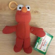Tyco Sesame Street Beans Clip On Elmo New Nwt