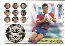 2003 SELECT XL NRL TEAM OF THE YEAR #TY5: ANDREW JOHNS - NEWCASTLE KNIGHTS