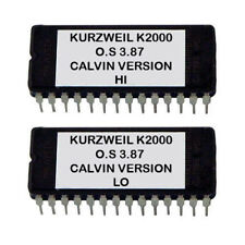 Kurzweil K2000 OS Upgrade v 3.87 Calvin version Latest O.S Eprom