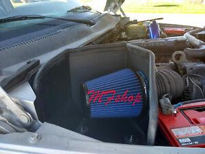 Blue For 94-02 Dodge Ram 2500 3500 5.9L Diesel Cold Air Intake + Heat Shield