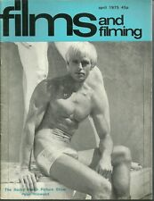 RARE - FILMS AND FILMING Magazine - April 1975 - Rocky Horror Picture Show