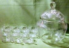 Markenlose Kristallgläser der 50er Jahre