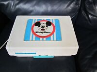 Vintage Walt Disney Mickey Mouse GE Record Player