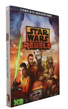 Star Wars Rebels Season 4  (DVD,3 discs) New Sealed box