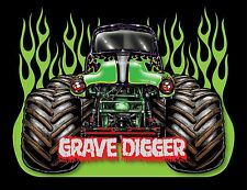 Grave Digger ( Animation )  24 X 36 Poster