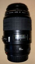 Canon EF 100mm f/2.8 Macro USM Lens Gently Used And Very Clean