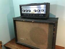 1965 Sears Silvertone Bass Guitar Tube Amplifier 1483 PIGGY BACK 23 WATTS