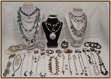 Vintage Boho jewelry Lot Icing Lia Sophia AEO Coventry Monet LOTS MORE n493