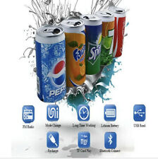 Bluetooth Mini Portable SODA CAN Speaker For LapTop, PC, MP3, Smart Phone Cola