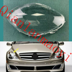 Right Side Lucency Headlight Cover With Glue For Mercedes W251 R-Class 2006-2010