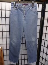 "Gloria Vanderbilt Straight Leg Blue Jeans Size 8 Inseam 30""  FREE SHIPPING   Z01"