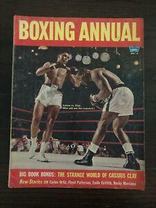 BOXING ANNUAL MAGAZINE - 1965 - LISTON, CLAY, ORTIZ, PATTERSON, GRIFFITH