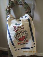 feed sack fabric, flour sack bag, feed bag fabric, sewing supplies, fabrics