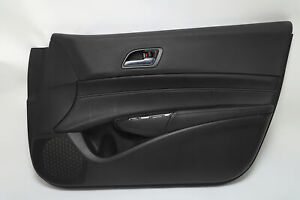 Acura ILX Front Right/Passenger Door Panel Black Leather OEM 19-20 A934 2019, 20