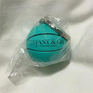 "Tiffany & Co. Basketball Key Chain NEW YORK SINCE 1837 SPALDING 1.4"" Novelty"