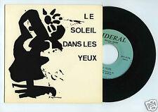 45 RPM  SP MIREILLE RIVAT LE SOLEIL DANS LES YEUX