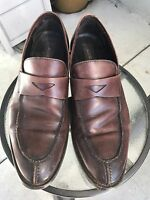 TASSO ELBA Mens Brown Slip On Loafers Dress Casual Shoes Sz 11