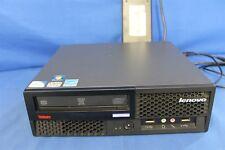 LENOVO THINKCENTRE M58 SFF PC INTEL PENTIUM E5500 2.8GHz 4GB RAM 500GB HDD