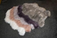 Polyester Hides, Skins & Faux Fur Rugs
