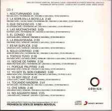 rare cd SALSA Sonora Matancera YO SOY EL SON CUBANO noche de farra OYE MIMAcongo