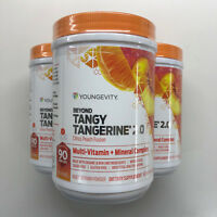 Beyond Tangy Tangerine BTT 2.0 3 Pack Canisters Youngevity Dr Wallach
