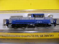 Brawa N 62701 Diesellokomotive Gravita 10 BB Werkslok Voith Ep.VI NEU OVP